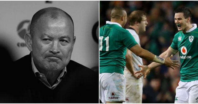 It looks like Eddie Jones just couldn't stay gracious for too long