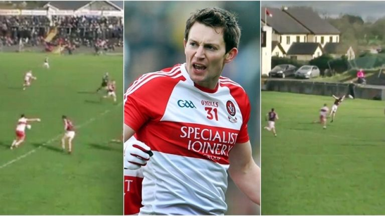 Derry star produces truly sumptuous pass and some are saying it is better than Cavan's