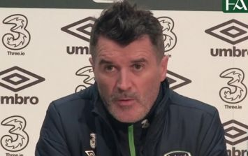 WATCH: Roy Keane's battle cry for the Welsh is downright terrifying