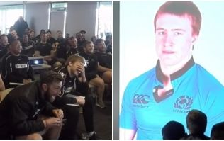 WATCH: Stuart Hogg gets the piss ripped out of him as he accepts Six Nations award
