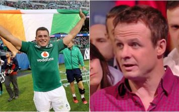 WATCH: Austin Healey's cheeky Lions joke about CJ Stander did not go down well