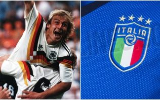 Italy and Germany's World Cup jerseys appear to have been leaked