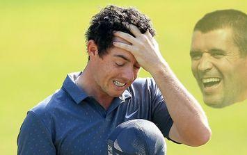 Rory McIlroy still sore over Roy Keane autograph snub