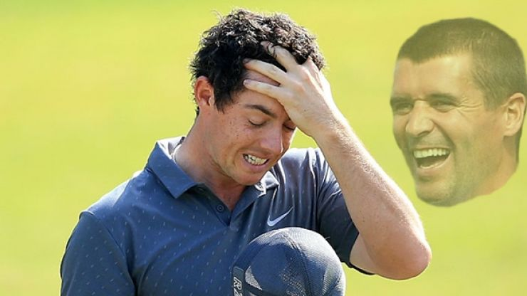 Rory McIlroy still sore over Roy Keane autograph snub