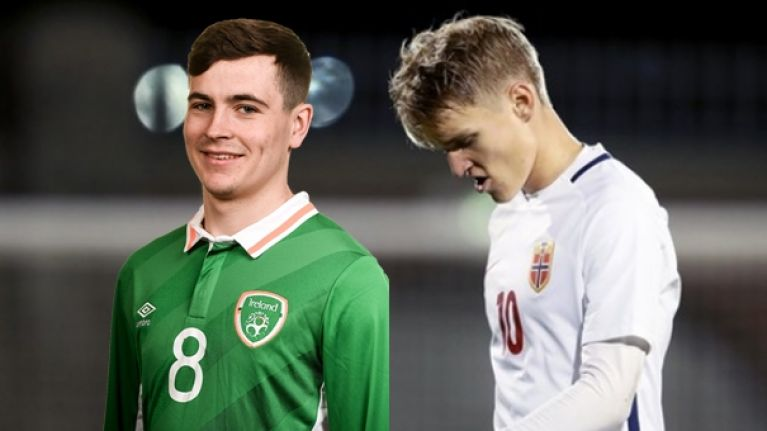 Martin Odegaard came to Tallaght but we all left talking about Josh Cullen