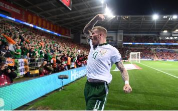 James McClean's goal told the story of Ireland and of Martin O'Neill's Ireland