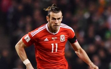 Gareth Bale out of Ireland game