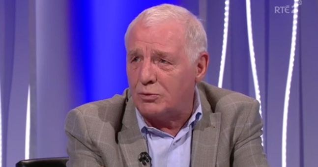 A joke or not, Eamon Dunphy's Londonderry comment was cheap