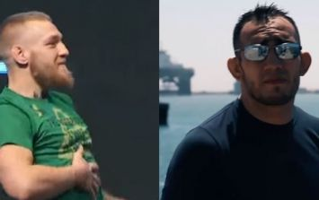 Conor McGregor may want to get eating when he sees how much Tony Ferguson weighs