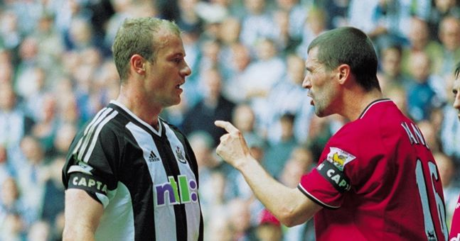 Alan Shearer reveals what Roy Keane had planned for him after his infamous red card