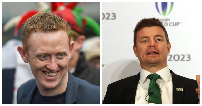 Brian O'Driscoll has come out to defend Colm Cooper over testimonial criticism