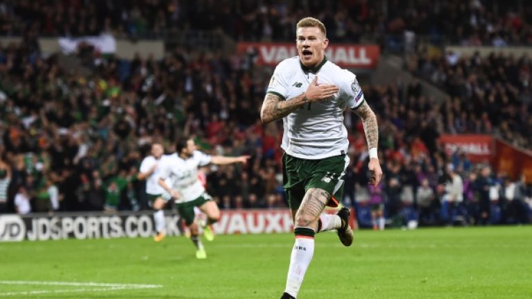 Irishman has James McClean to thank after outrageous 2,000/1 punt comes good