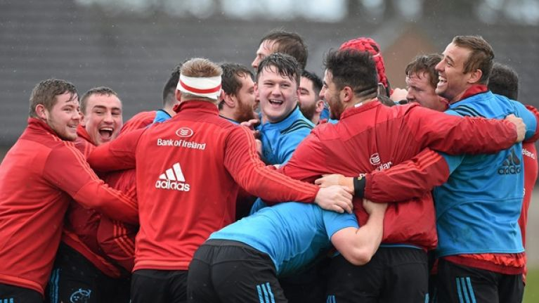 The biggest feeder in the Munster squad is no surprise, according to Peter O'Mahony