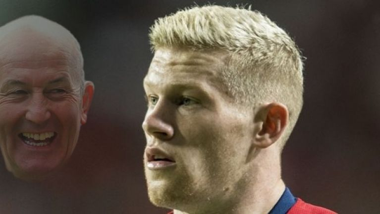 """He won't be playing for me for what he's done for Wales"" - Tony Pulis and James McClean meet again"