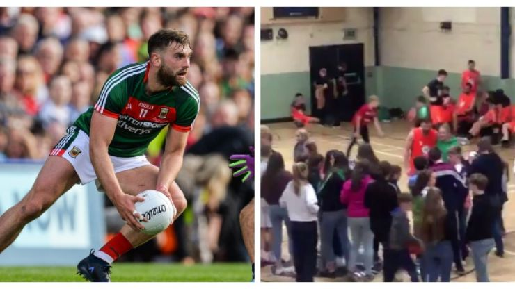 Aidan O'Shea praised after spending time with fans after basketball defeat