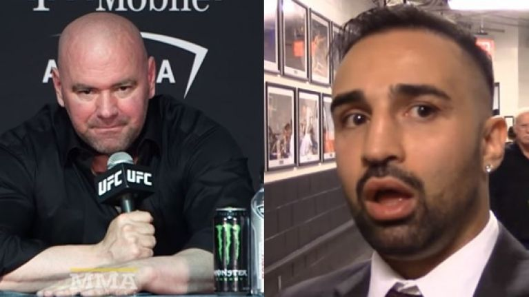 You can almost hear Paulie Malignaggi's response to Dana White's comments already