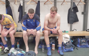 WATCH: Heartbreaking scenes in Roscommon dressing room after Mayo Quarter-Final defeat
