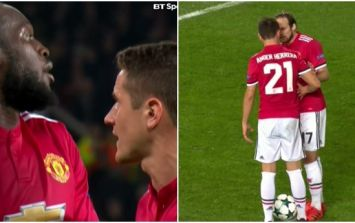 There was some confusion after Manchester United won a second penalty against Benfica