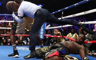 Deontay Wilder stakes claim for Anthony Joshua fight with insane first round KO