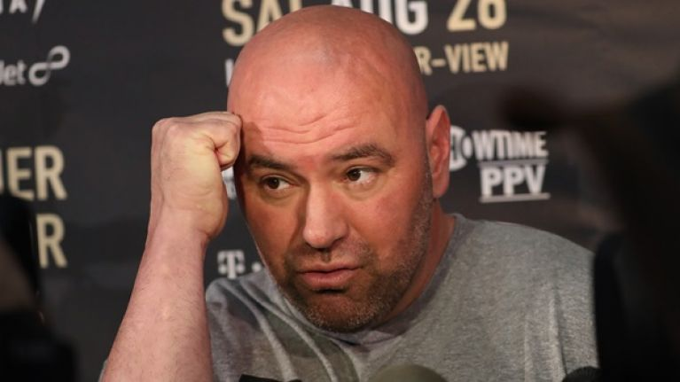 Dana White planning to bring boxing to the UFC