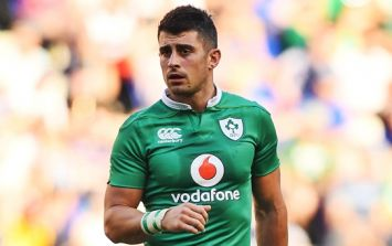 Tiernan O'Halloran on Joe Schmidt phone call when he missed out on Ireland's squad