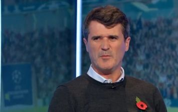 WATCH: Liverpool fans aren't happy with Roy Keane's comments
