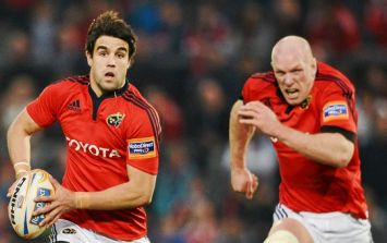 Conor Murray shares brilliant story about his first meeting with Paul O'Connell