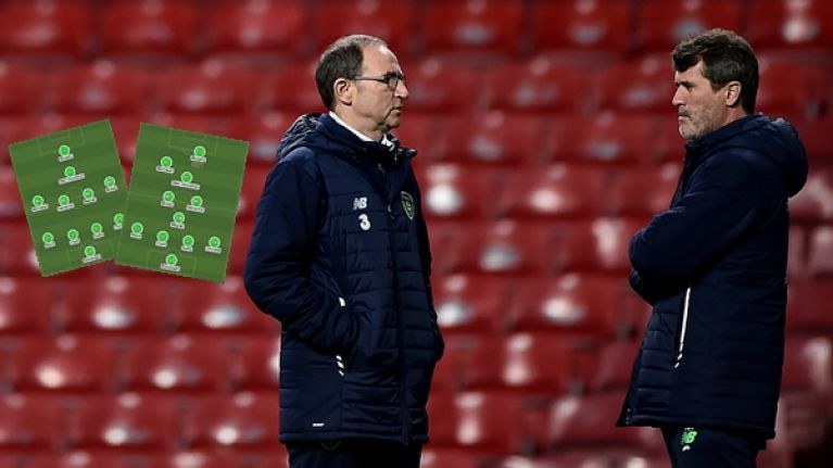 Four different changes Martin O'Neill could make to the Ireland team for Denmark