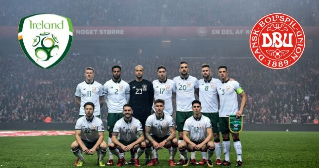 Ireland name strong team to go out and beat Denmark tonight