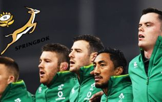 Jersey clash between Ireland and South Africa drew plenty of criticism