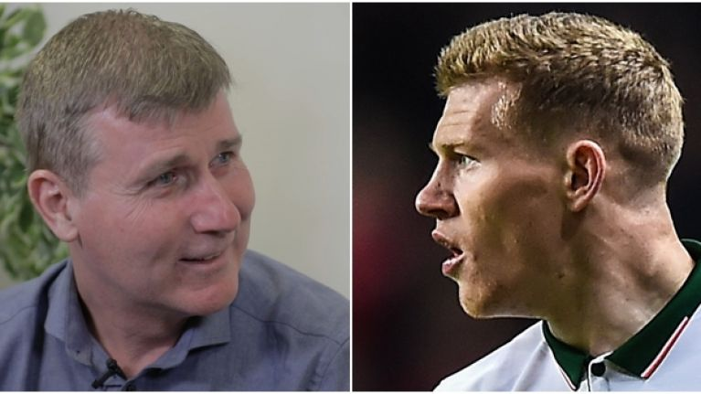 """""""We had to take him away from running"""" - Stephen Kenny on James McClean's extra training"""