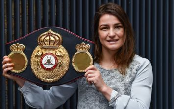 The proposed date for Katie Taylor's first title defence is a school night