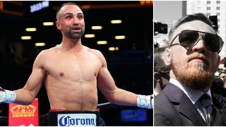 """I am not fighting in April"" - Paulie Malignaggi on Conor McGregor fight"