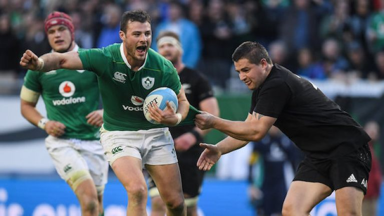 Ireland to play New Zealand in 2018