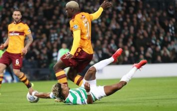 """The referee even asked Scott Sinclair has he dived"""