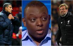 Garth Crooks insists Chris Hughton was right to be annoyed by Jurgen Klopp