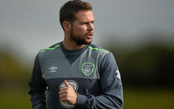 Ireland winger Alan Judge scores in his first game of football in nearly 20 months
