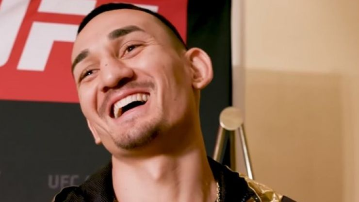 Will Smith can partly be credited for Max Holloway's insane calmness for Jose Aldo rematch