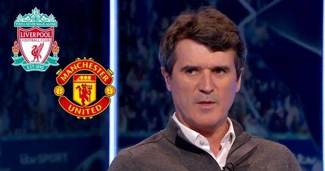 Roy Keane has very different views on Liverpool and Manchester United's chances of Champions League success