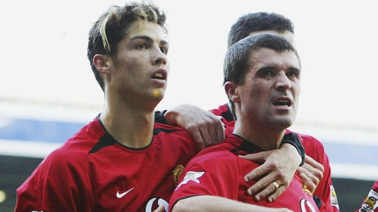 Image result for ronaldo roy keane