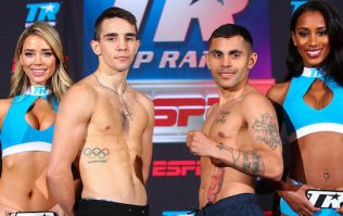 WATCH: Michael Conlan looks so relaxed at weigh-in for Molina fight