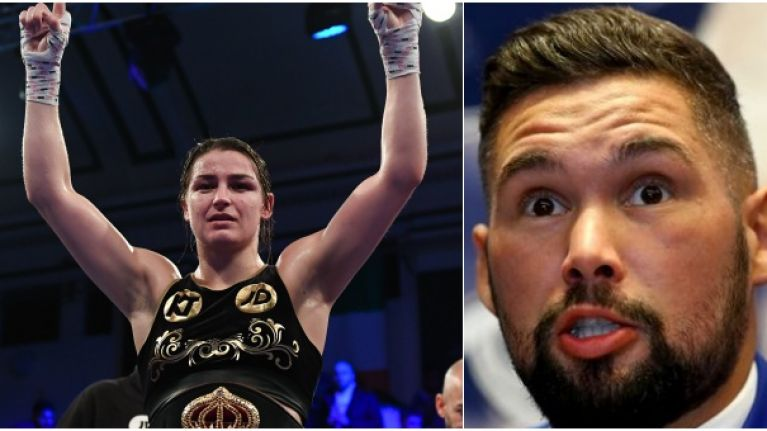 """She is fantastic to watch"" - Tony Bellew is a big fan of Katie Taylor"