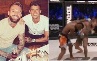Geordie Shore's Aaron Chalmers does it again with brutal finish
