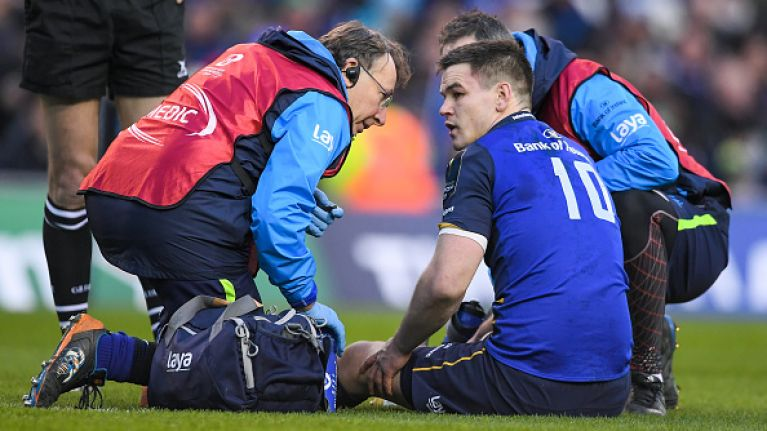 Leo Cullen provides Johnny Sexton injury update but is coy on Ross Byrne and Sean Cronin HIA questions