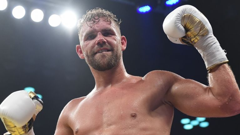 Billy Joe Saunders just couldn't help himself in his latest, impressive victory