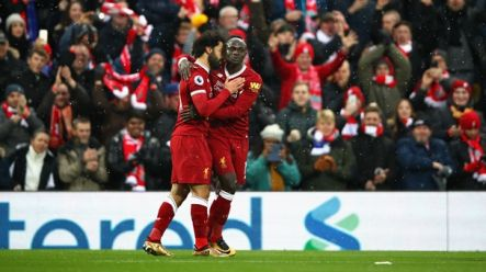 Liverpool Fans Not Thrilled With Pre Everton Plans For Mohamed Salah And Sadio Mane Sportsjoe Ie