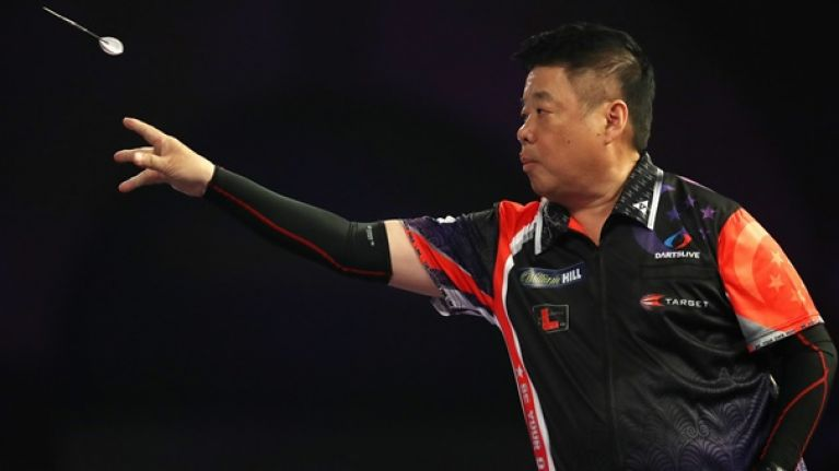 Mark Webster beaten by 63-year-old Paul Lim in World Darts Championship shocker