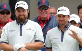 Shane Lowry and Graeme McDowell tore it up together in Florida on Saturday