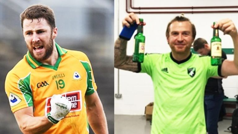 Corofin and Fulham Irish went out together in London after postponed quarter-final