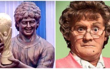 Diego Maradona statue gets ridiculed for dodgy likeness